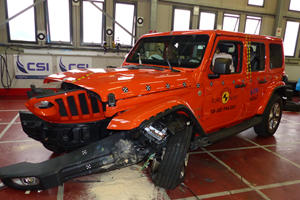 Jeep Wrangler Gets Another Terrible Crash Test Rating