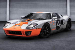The Paint On This Bespoke Ford GT Took A Year To Complete