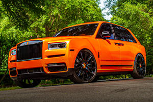 Guess Which NFL Athlete Owns This Crazy Rolls-Royce Cullinan?