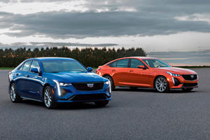Cadillac Unveils CT4-V And CT5-V With Turbo Power