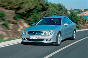Mercedes-Benz CLK-Class Coupe