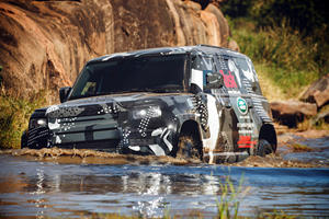 Land Rover Defender Receives The Ultimate Final Beating