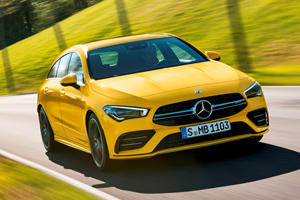 Say Hello To The 2020 Mercedes-AMG CLA35 Shooting Brake
