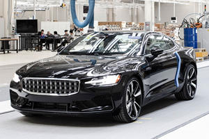 First Road Legal Polestar 1 Rolls Off The Line