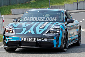 This Is Your Best Look Yet At The Porsche Taycan
