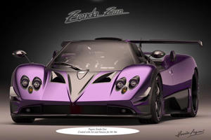 This Is The Craziest One-Off Pagani Zonda Yet