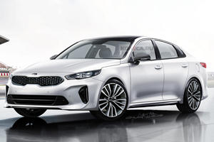 This Is What The New Kia Optima Will Look Like