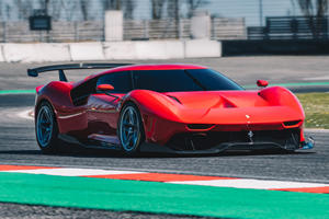 Watch The One-Off Ferrari P80/C Tear Up The Track