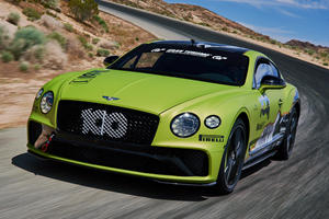 Bentley Built This Continental GT To Break Speed Records