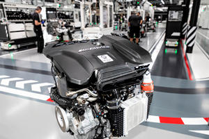 Mercedes-AMG Debuts Tiny 4-Cylinder Making 416-HP