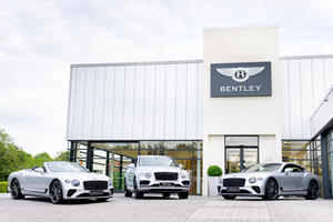This Bentley Dealer Has A Great Way To Celebrate 25 Years In Business
