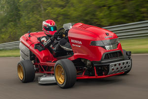 This Honda Lawnmower Is Faster Than Many Supercars