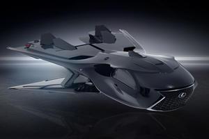Lexus Reveals Insane Flying RC F Jet