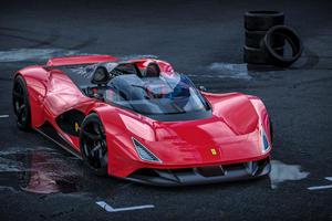 The Ferrari Aliante Barchetta Is Designed To Melt Minds