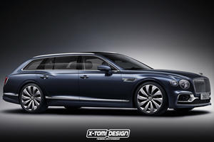 The Bentley Flying Spur Wagon Is The Car Of Our Dreams