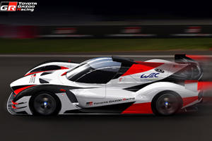 Toyota Building A Hypercar To Fight Aston Martin Valkyrie