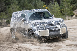 Land Rover To Give 2020 Defender Special Features For China