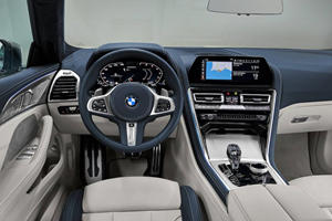 LEAKED: BMW 8 Series Gran Coupe Interior