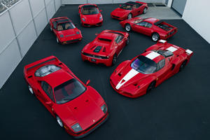 This Is The Most Immaculate Ferrari Collection We've Ever Seen