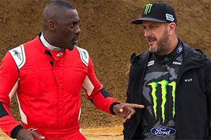 Ken Block Challenged By Idris Elba For Title Of Best Driver