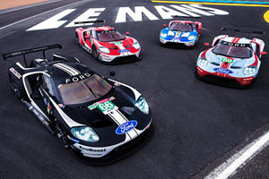 Sad Ending For The Ford GT At Le Mans