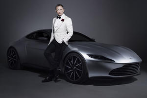 James Bond's New Aston Martin Couldn't Be Sexier