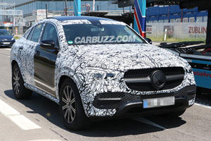 The Covers Are Starting To Come Off The New Mercedes GLE Coupe