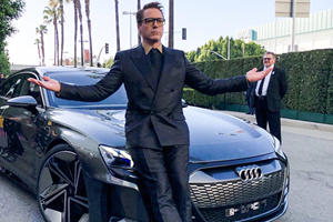 Audi Ditches Ironman For Younger Superhero