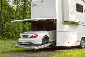 Stunning Motorhomes With Built-In Garages