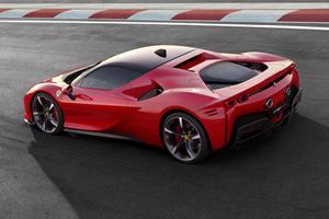 Ferrari Shows Off The SF90's 986 Horsepower Hybrid System