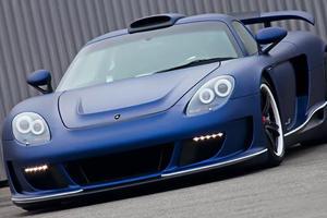 Gemballa Mirage GT Matt Blue Edition