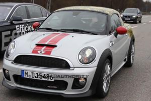 Spied: 2012 MINI Coupe John Cooper Works