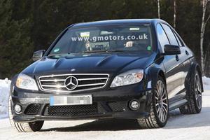 Spied: Mercedes-Benz C63 Black Series Prototype