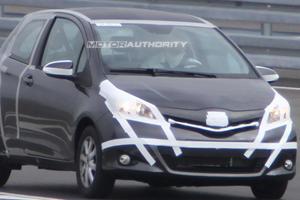 Spied: 2012 Toyota Yaris Three-Door