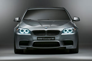 Breaking Details: BMW M5 Concept at Shanghai