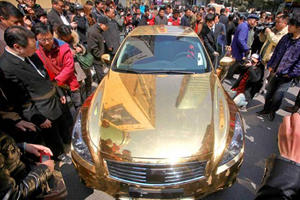 Gold Infiniti Hopes to Lure Jewelry Buyers