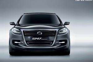 Seoul 2011: Renault Samsung SM7 Concept Partially Revealed