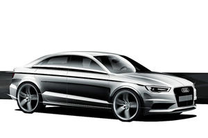 Official Sketch of Future Audi A3 Hatch and Sedan