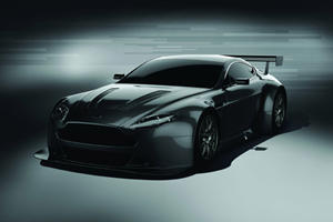 Aston Martin Unveils V12 Vantage Race Car