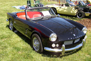 Iconic Roadsters: Triumph Spitfire