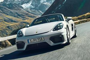 2020 Porsche 718 Spyder First Look Review: Absolute Driving Pleasure