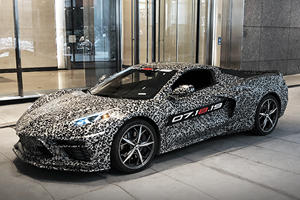 Somebody Paid Way Too Much For C8 Corvette Reveal Tickets