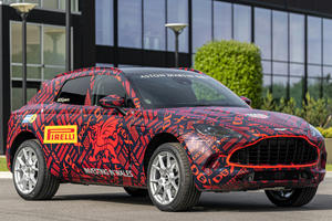 Here's When You Can See Aston Martin's First SUV In Action