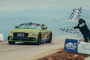 Bentley Continental GT Smashes Pikes Peak Production Car Record