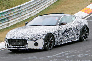 2020 F-Type Spotted Looking Sexy On the Nurburgring