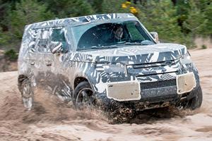 Revealing Land Rover Defender Details Leak Online