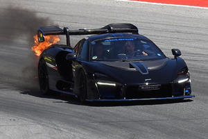 Another McLaren Senna Goes Up In Flames