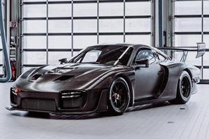 The Porsche 935 Looks Stunning In Bare Carbon Fiber