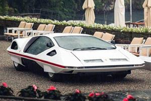 One-Off Ferrari Concept Erupts In Flames In Monte Carlo