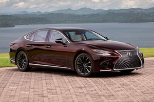 Limited-Edition Lexus LS 500 Unveiled With Striking New Look